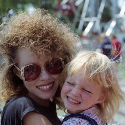 Amazing 80's Hair Mom!
